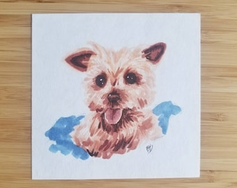 Custom Marker Pet Portrait Commissions