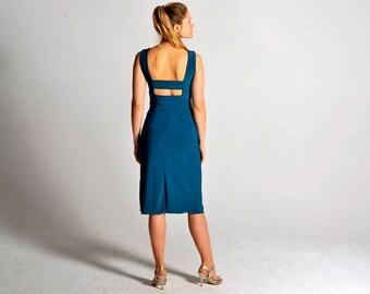 OLIVIA teal tango dress, XS and M