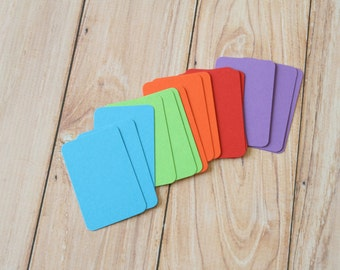 50pc BRIGHT Colours Eco Series Business Card Blanks