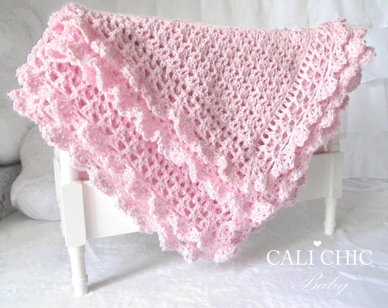 Crochet Baby Blanket PATTERN 89 Crochet Pattern Victorian