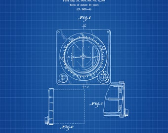 Lear Aircraft Instrument Patent - Airplane Instrument, Airplane Art, Pilot Gift, Flight Instrument, Aircraft Decor, Airplane Poster, LearJet