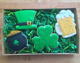 Saint Patrick's Day cookie box set