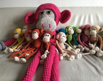 Crochet Plush Monkeys