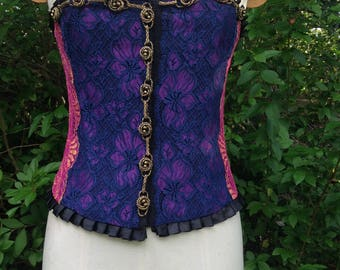 Beautiful steampunk corset