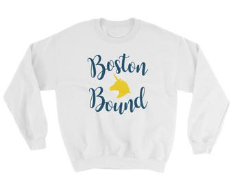 Boston Marathon Bound Qualifier Runner Sweatshirt