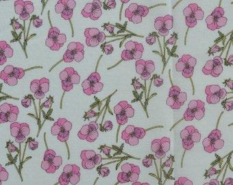 Liberty Fabric Tana Lawn Ros- 5''x10'' piece  Pink