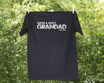 GRANDPA or GRANDAD Personalized - Father's Day Shirt