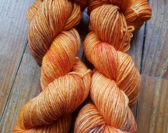 """WEASLEYS"" - SportWeight hand dyed wool skein"