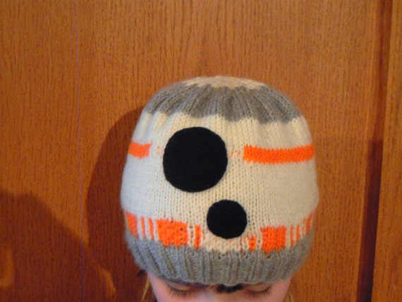 Childrens Star Wars Bb8 Hat Knitting Pattern