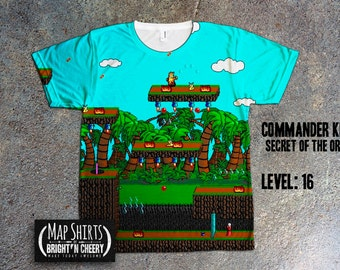 Oregon Trail Game Map TShirt Retro Video Game Map, 1990s nostalgia, gamer shirt, I love the 90s, you have died of dysentery,