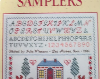 Cross Stitch Samplers hardbound book used Better Homes and Garden 80 pages