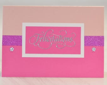 Greeting card for birth, marriage...