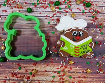Baking Gingy VIP Cookie Cutter. Designed by @melimelromero