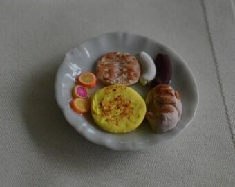1:6 Scrambled egg breakfast for the hungary