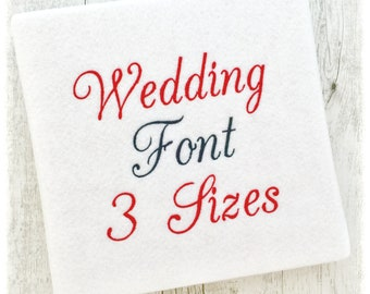 Embroidery Font Small Mini Machine BX Alphabet PES Designs - Small BX Embroidery Font - Small Machine Embroidery Fonts - 3 Sizes