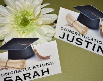 Graduation Treat Bag Toppers