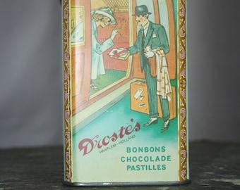 Vintage Drostes Cocoa Tin