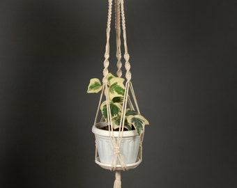 Macrame Plant Hanger Indoor Hanging Planter Cotton Macrame Plant Holder Wedding Macrame Decor modern Pot Hanger stylish design home garden