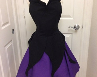 Plus - Ursula costume apron dress