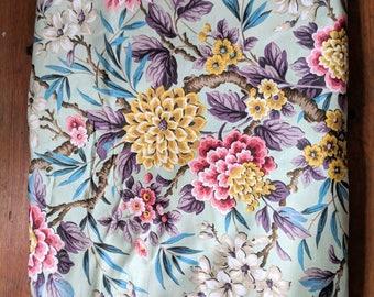 Original Vintage 1940s/1950s Bernard Wardle Botanical Fabric