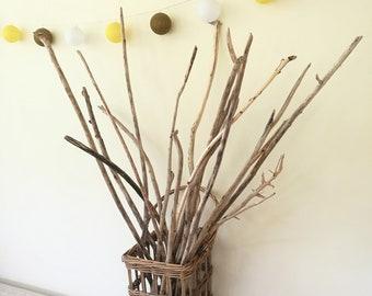 "25-41"" Large Driftwood Twigs Vase Filler - DIY Driftwood Lamp - Drift Wood Branches Home Decor & Craf Supplies"