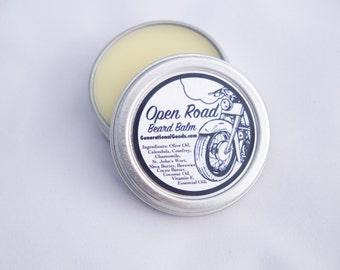 Open Road Beard Balm Citrus Spice Motorcycle Adventure