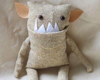Sock Monster – Umber – Pocket Size