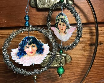 VintageTinsel and Mercury Glass Ornaments