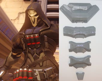 Overwatch Reaper Cosplay - Spine Armor costume prop video game gift