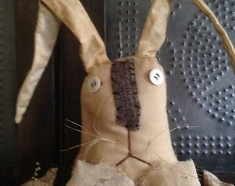 Primitive Boy Easter Bunny Rabbit