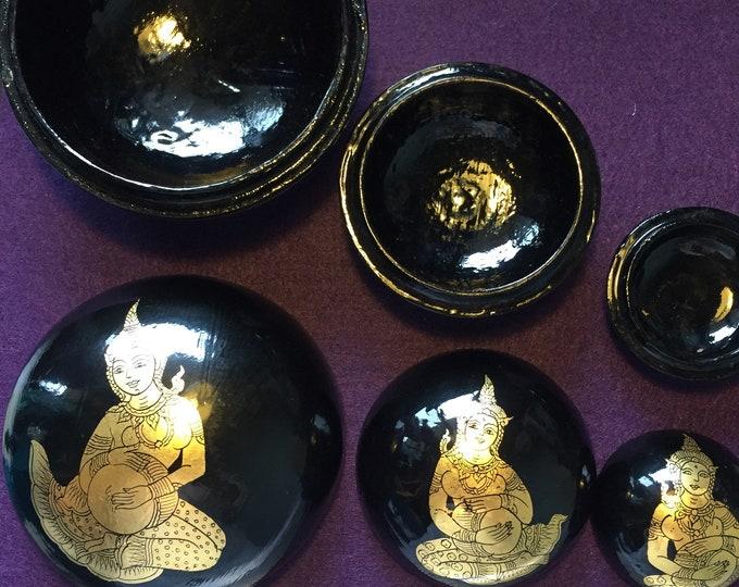 Vintage Nesting Bowls - Thiland