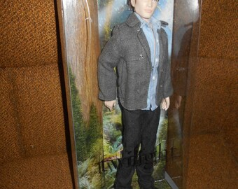 Twilight Edward Doll Barbie Collector Pink Label New in Sealed Box