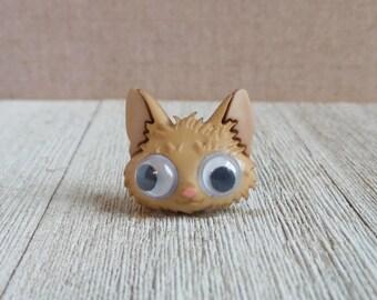 Kitty - Cat - Pet - Tan Cat - In Remembrance Of - Best Friend - Gift Idea - Lapel Pin