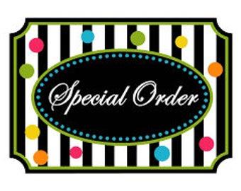 Special Order Marissa Sorensen