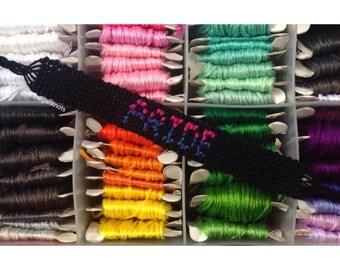 Bisexual Pride Bracelet