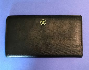 Chanel Portefeuille Wallet Clutch with Card