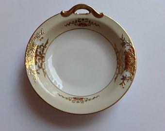 Exquisite Vintage, Rothschild Noritake, Christmas Gift, BonBon Dish Circa 1918