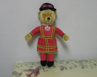 """19"""" Merrythought Ironbridge Shrops antique bear"""