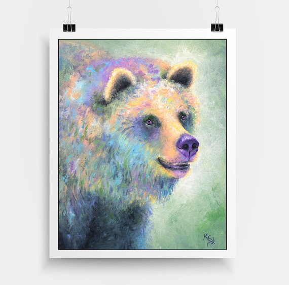 Grizzly Bear Mallory Print