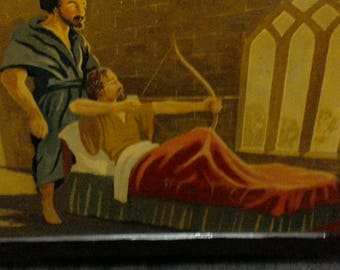 Robin Hood On His Death Bed by Paul Denn