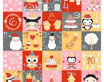 Printable advent calendar numbers, Digital Christmas countdown calendar, Cute diy Christmas advent calendar instant download December cards