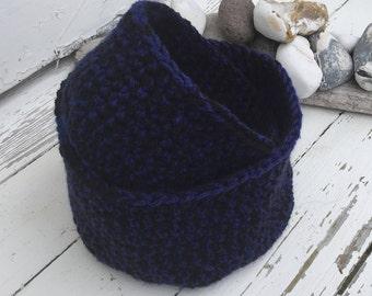 crochet storage baskets or bowls