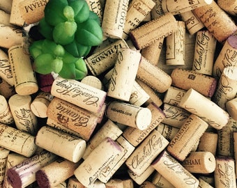 Real Wine Corks in Bulk for Crafts, Weddings, Events