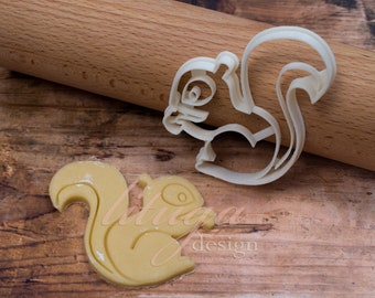 Squirrel cookie cutter - Animal shaped cookie cutter - Squirrel (No.2)