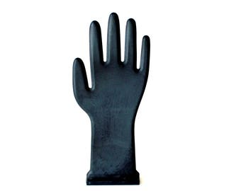Vintage Black Glove Mold Hand