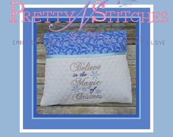Believe in Magic Subway Embroidery design includes  for hoop sizes 4X4 split, 4.35X6, 5X7, 5.75X8 and 6X8.4