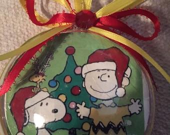 Peanuts Charlie Brown christmas ornament