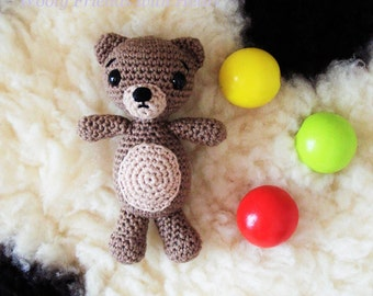 A Little Teddy Bear pattern, amigurumi