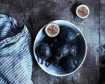 Food Photography, Vintage Blue, Wall Art, Rustic Art, Home Decor, Still Life Photography, Kitchen Decor, Restaurant Decor, Photography