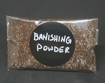 Banshing Powder - Banish unwanted energies